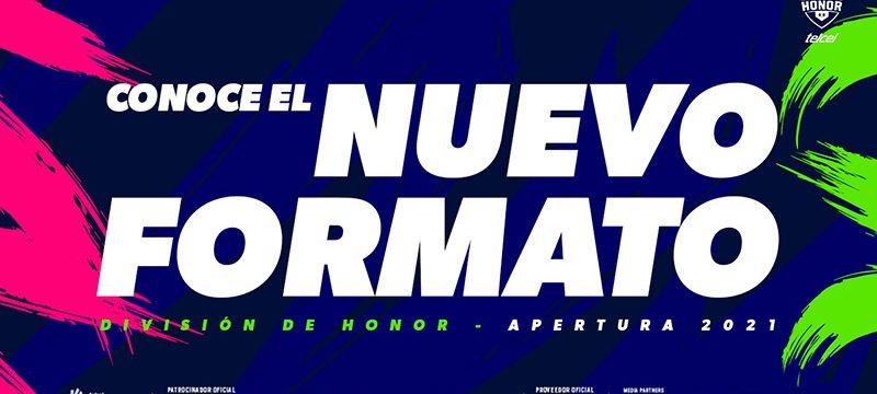 Nuevo-formato-Division de Honor Telcel 2021
