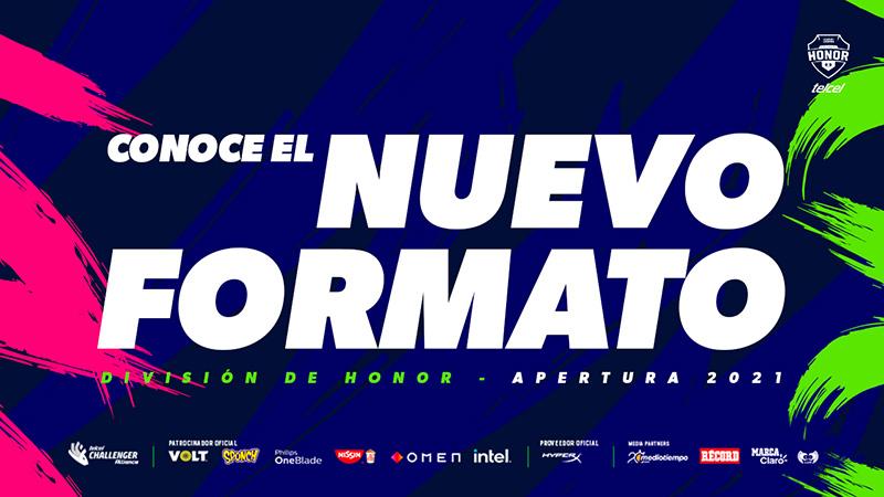 Así es el nuevo formato para la División de Honor Telcel 2021