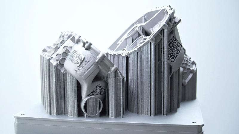 Porsche imprime en 3D una carcasa de motor eléctrico