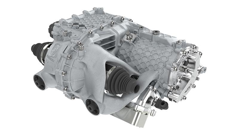 Porsche carcasa de motor electrico