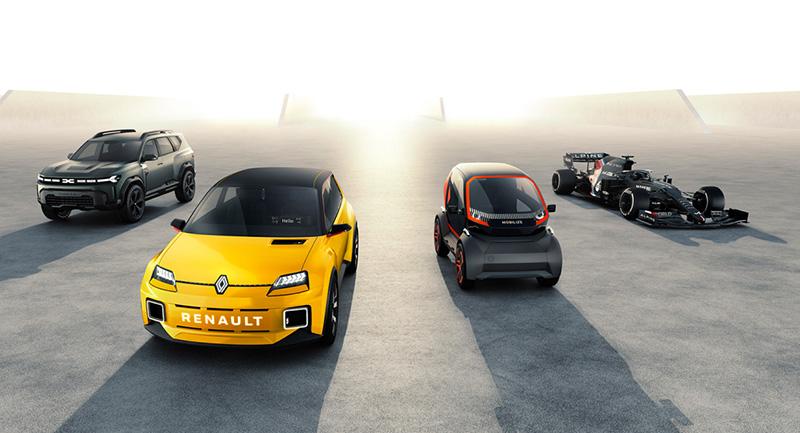 Renaulution, la nueva estrategia de Renault para el futuro