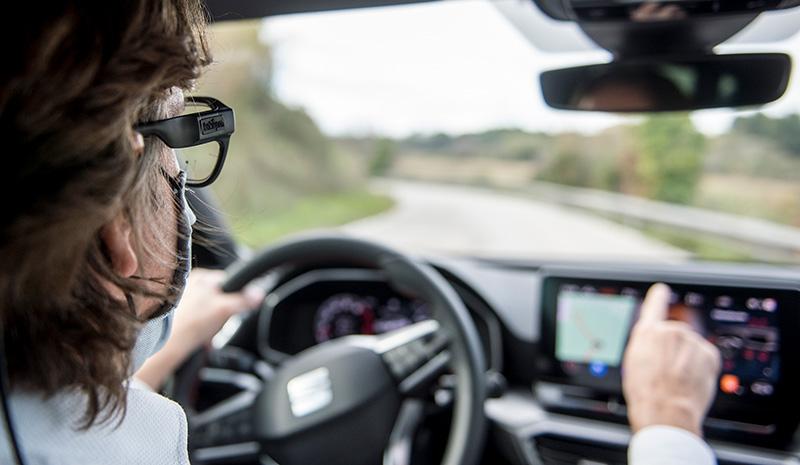 SEAT utiliza gafas Eye-Tracking para dar mayor seguridad