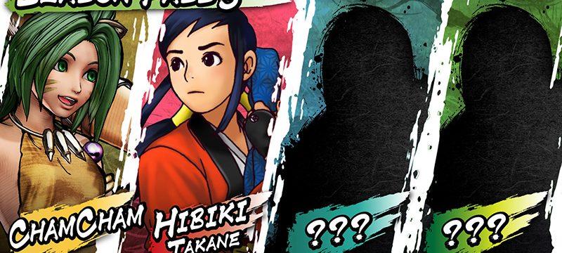 Samurai Shodown season pass 3 personajes