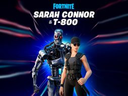 Fortnite Sarah Connor y T-800