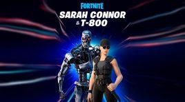 Sarah Connor y el T-800 también están luchando en Fortnite