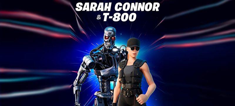 Fortnite Sarah Connor y T-800