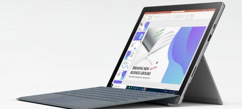 Surface Pro 7 Plus empresas
