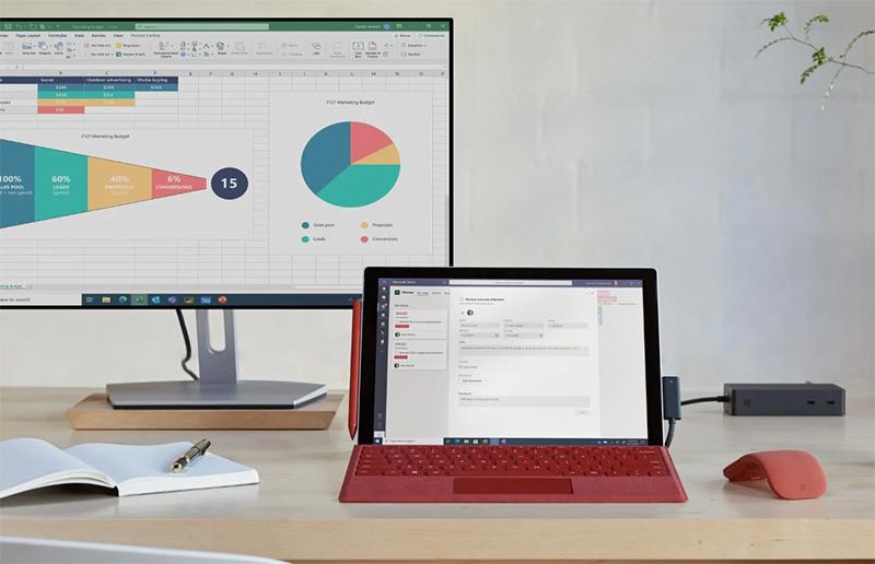 Surface Pro 7 Plus empresas Mexico