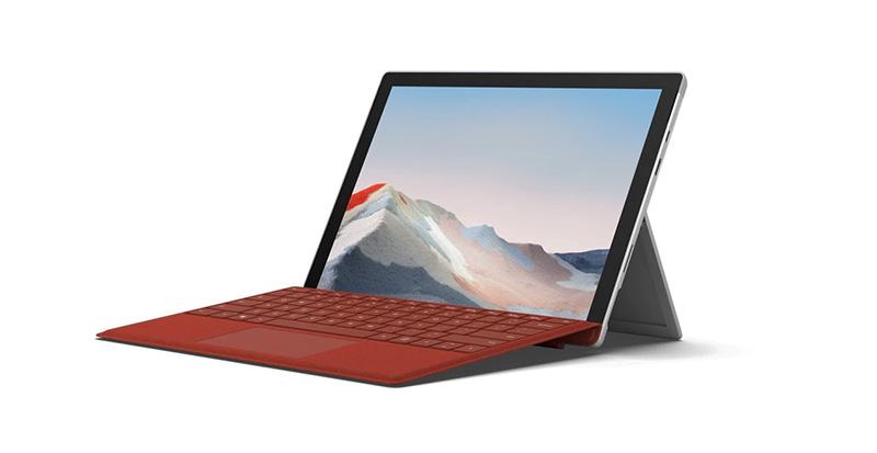 Surface Pro 7 Plus empresas caracterisiticas
