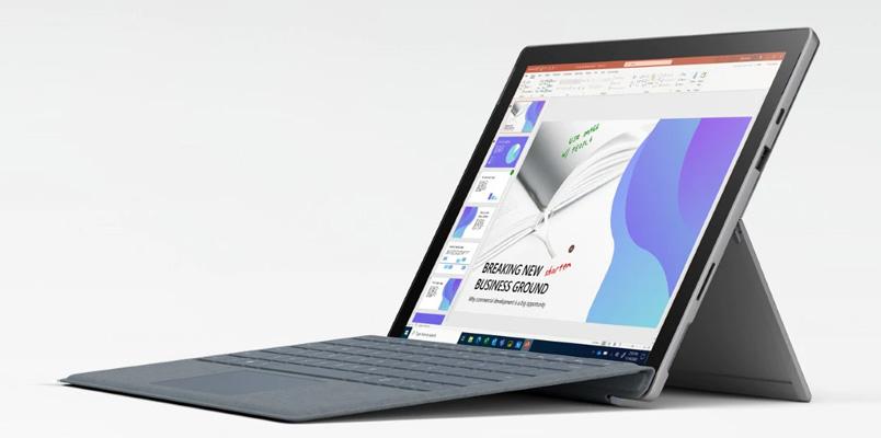 Surface Pro 7+ para empresas llegará a México en febrero de 2021