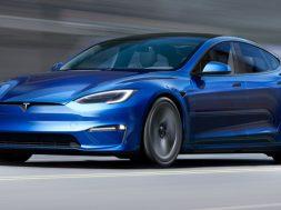 Tesla Model S 2021 frente