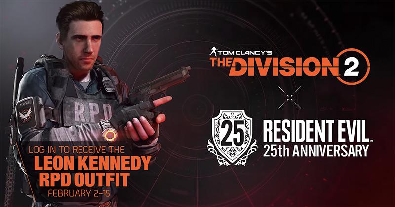 The Division 2 x Resident Evil Leon