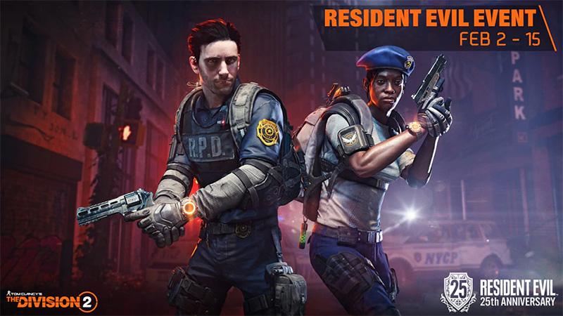 Tom Clancy's The Division 2 contará con contenido Resident Evil