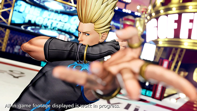 Benimaru Nikaido y el Team HERO pelearán en The King of Fighters XV
