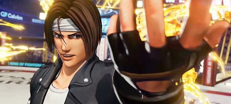 The King of Fighters XV Kyo