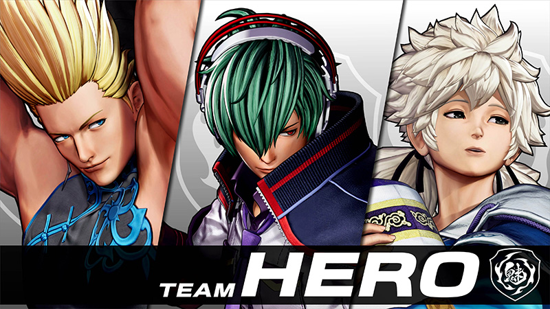 The King of Fighters XV Team HERO