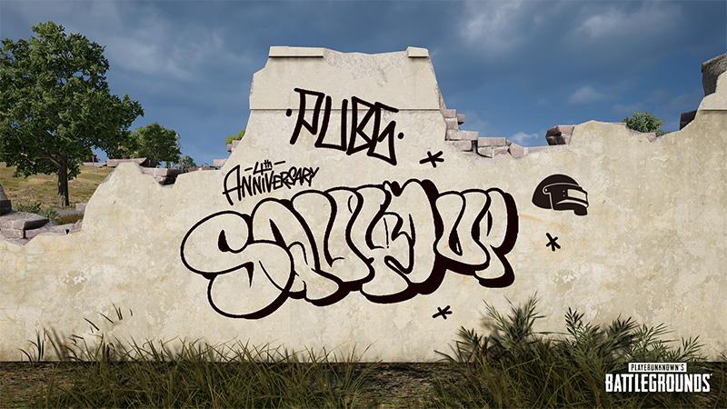 PUBG celebra 4 años con un concurso de graffiti que puedes ganar