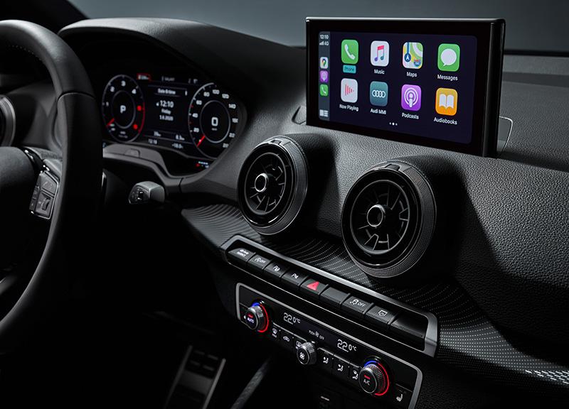 Audi Q2 pantalla