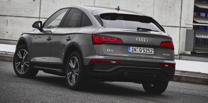 Audi Q5 Sportback Mexico trasera