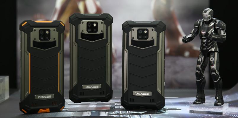 Conoce al resistente DOOGEE S88 Plus con batería de 10,000 mAh