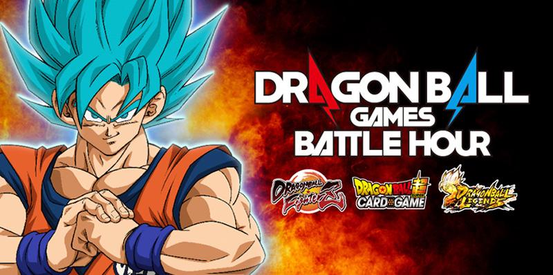 No te pierdas del evento digital Dragon Ball Games Battle Hour