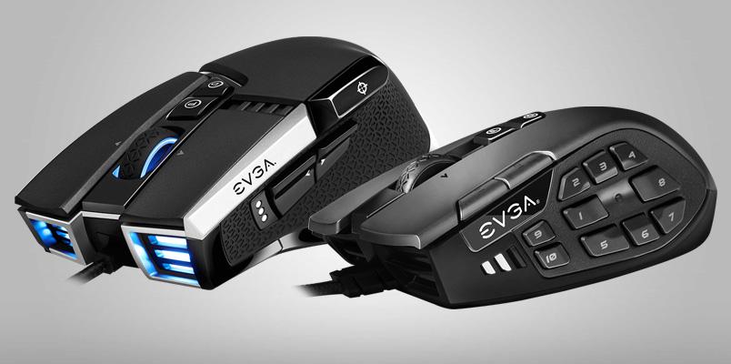 X15, X17 y X20 son los nuevos mouse gaming de EVGA