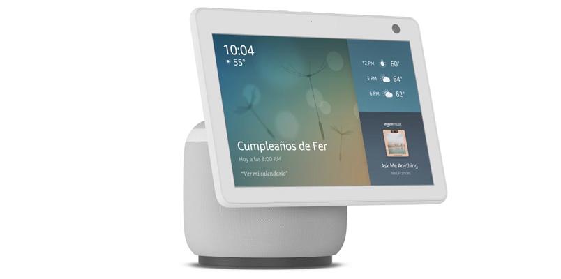 Echo Show 10 llega a México con pantalla HD y el poder de Alexa