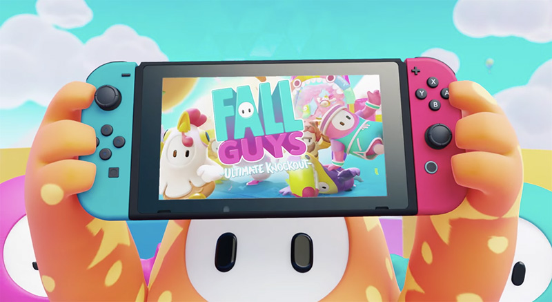 Fall Guys Nintendo Switch 2021 avance