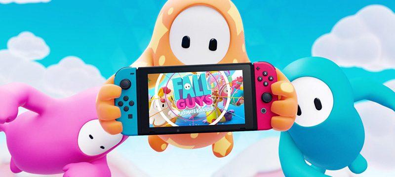Fall Guys Nintendo Switch 2021 teaser