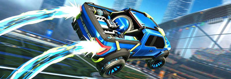 Ford F-150 Rocket League Edition salto boost
