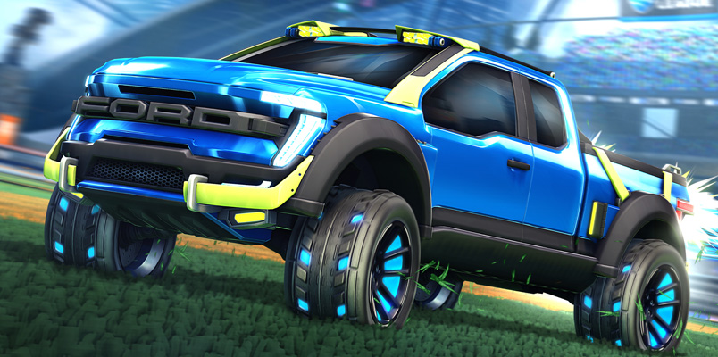 Ford F-150 Rocket League Edition estará solo por tiempo limitado