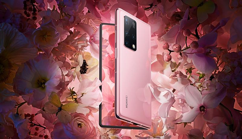 HUAWEI-Mate-X2-Crystal-Pink