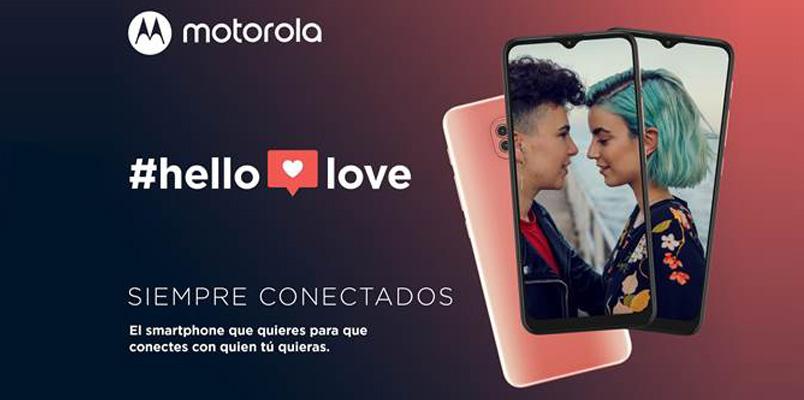 Llegó el momento de conectarse con Hello Love de Motorola