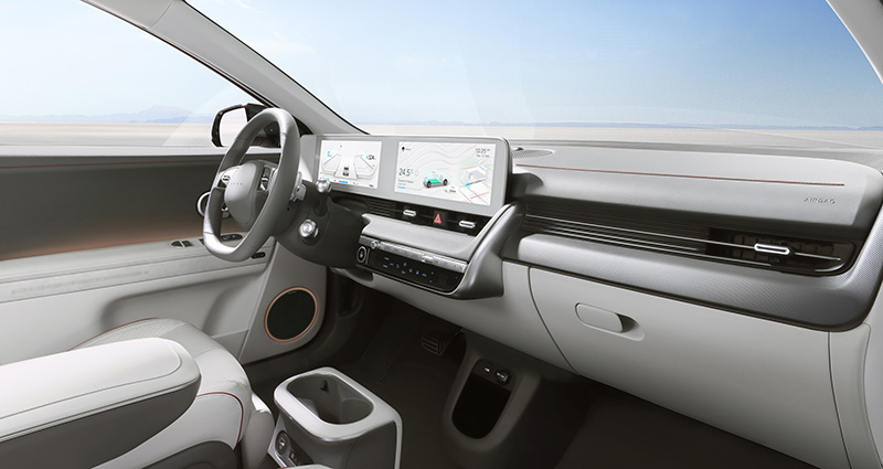 Hyundai IONIQ 5 presentacion pantallas