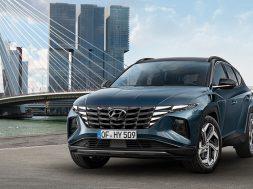 Hyundai Tucson 2022 previo frontal