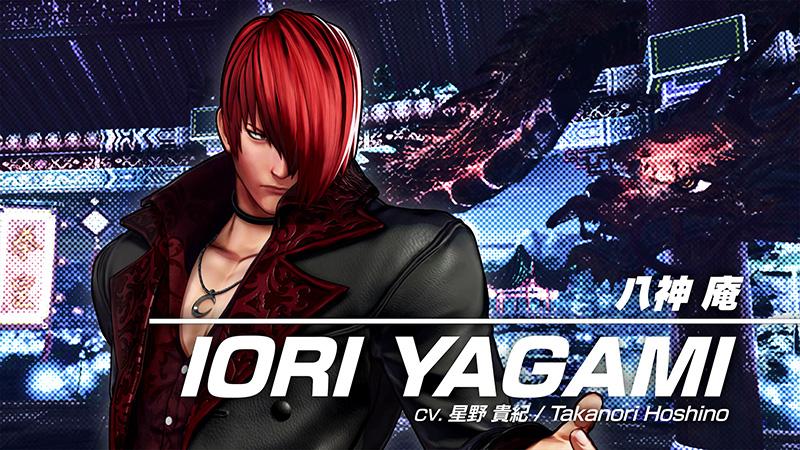 IORI YAGAMI The King Of Fighters XV