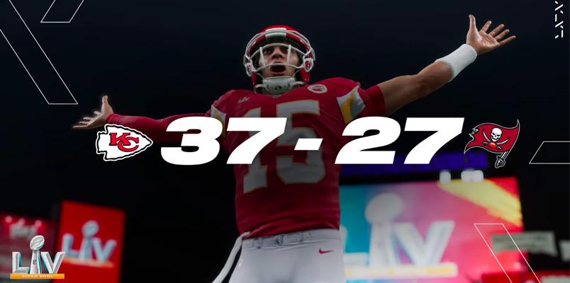 EA Sports Madden NFL 21: Kansas City gana el Super Bowl LV