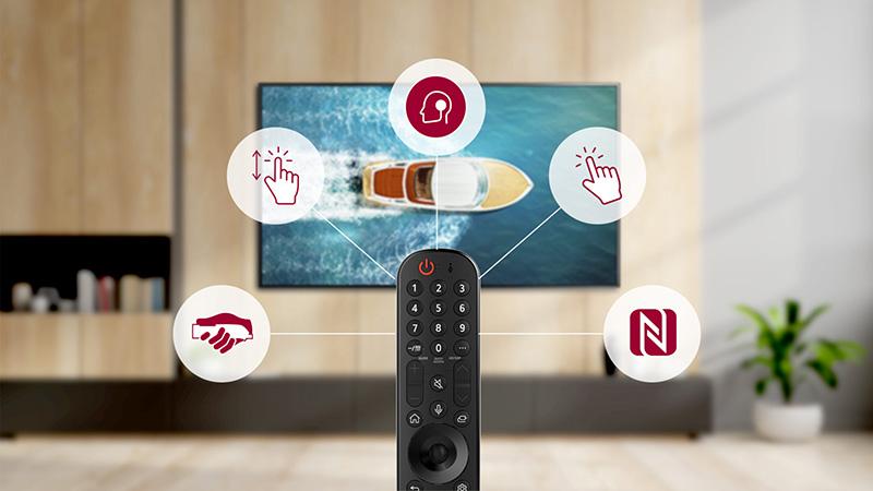 LG webOS TV otras marcas Magic Motion Remote