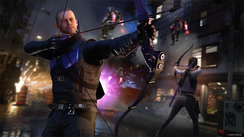 Hawkeye llegará a Marvel's Avengers sin costo en marzo de 2021