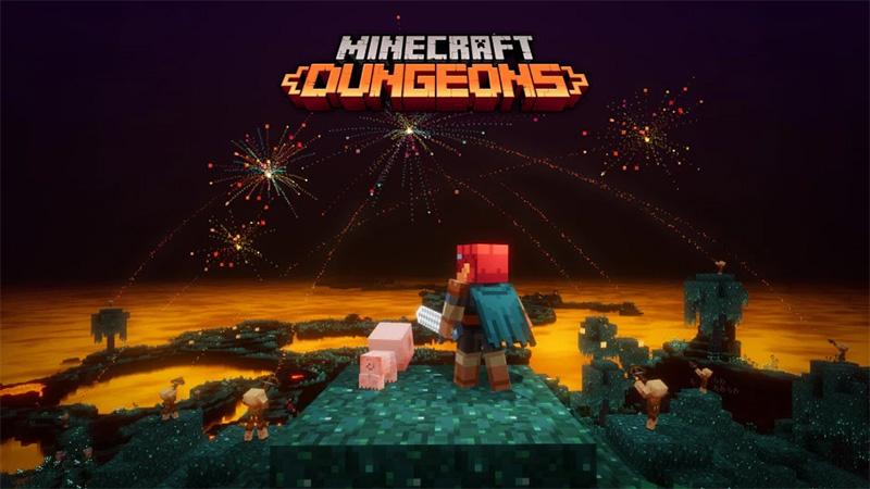 Minecraft Dungeons logra los 10 millones de jugadores en el mundo