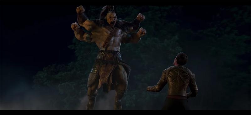 Mortal Kombat Trailer 1 Goro