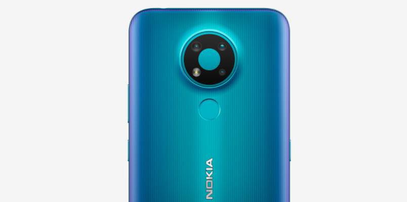 Nokia 3.4 camaras