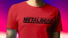 Konami lanza su tienda de ropa con productos de Metal Gear y más