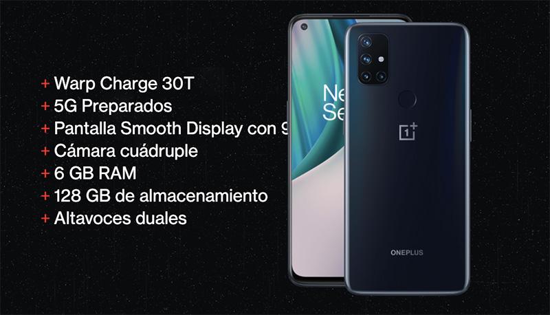 OnePlus Nord N10 5G especificaciones