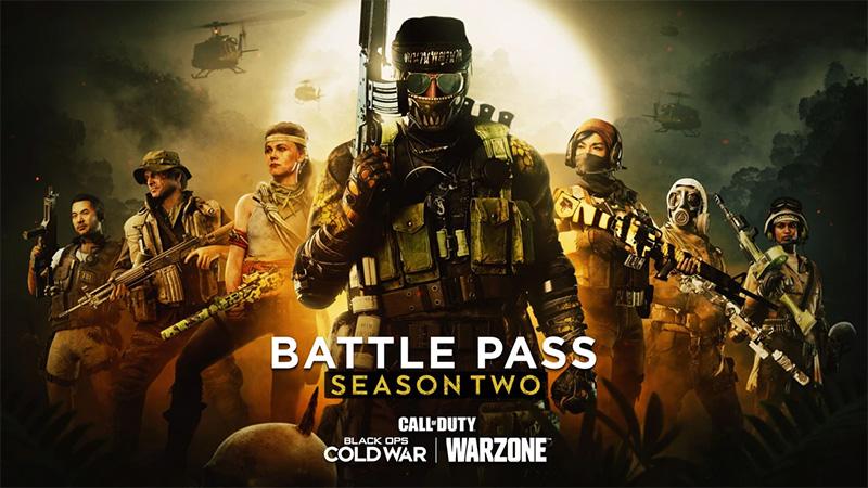 Pase de Batalla de la Temporada Dos de Black Ops Cold War y Warzone