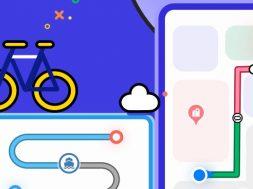 Petal Maps bicicleta