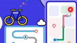 Petal Maps de Huawei ya permite planificar rutas en bicicleta