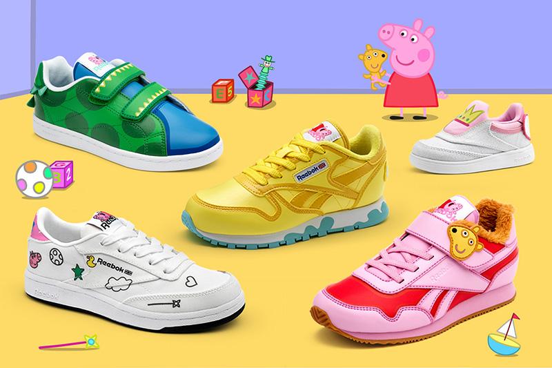 Reebok x Peppa Pig; la nueva colección pensada par los niños