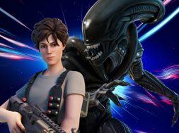 Ripley y Xenomorfo Fortnite