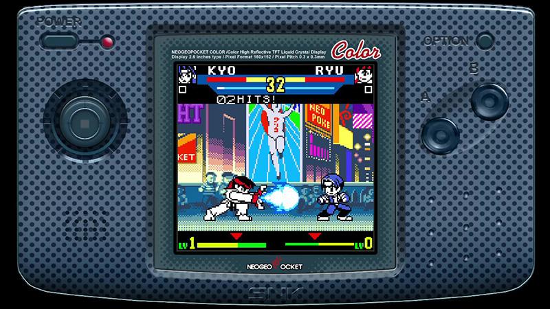 SNK vs Capcom The Match Of The Millennium Kyo vs Ryu